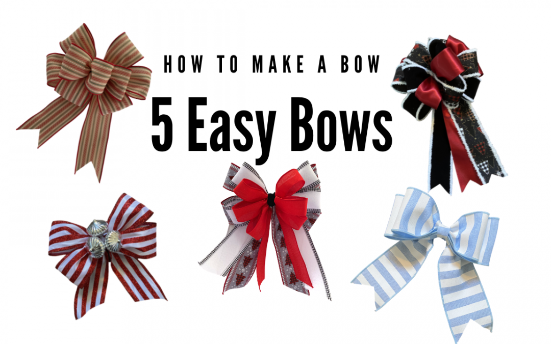 Bow Making 101